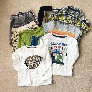 Toddler Boy Clothes Lot of 12 Sz 18 months